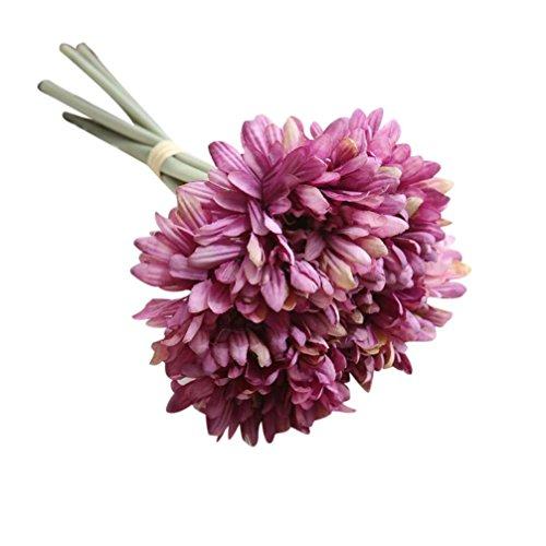 hlhn Colorful artificial seda Artificial flores...