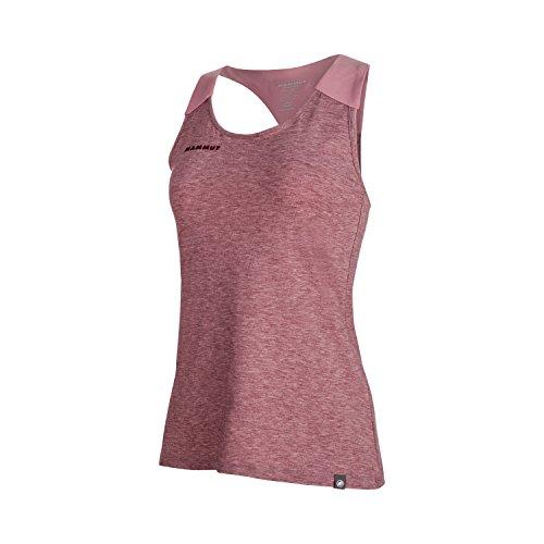 Mammut Herren T-Shirt Seile - Merlot Melange-Rose, M