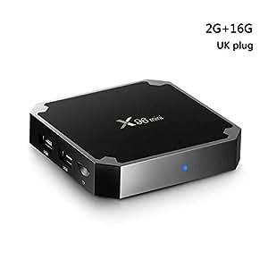 Aotejia Android TV Box X96 Mini Amlogic S905W Quad-Core 2G+16G 2.4G WIFI Media Player