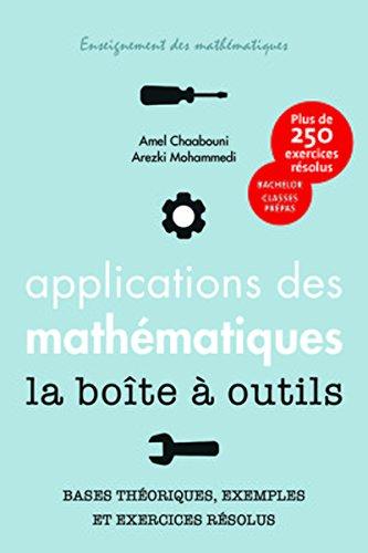 Eléments d'applications des mathématiques