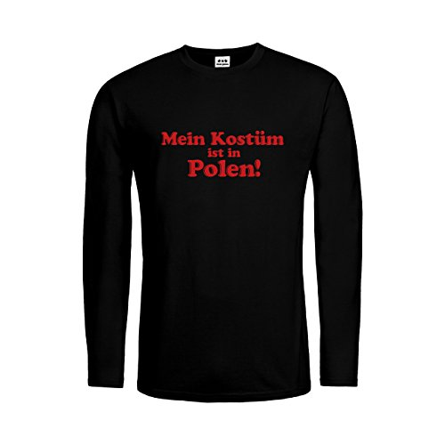 dress-puntos Herren Langarm T-Shirt Mein Kostüm ist in -