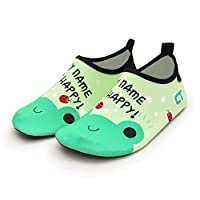 HIUGHJ Children Beach Shoes Light Home Slippers Kids Swimming Shoes Soft Sole Girls Boys Indoor Footwear Non-slip Shoes Seaside