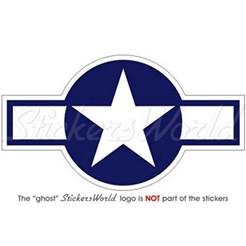 VEREINIGTE STAATEN Luftwaffe USAAF WWII 1943-47 USAF US Marine Flugzeug Rondelle 120mm Auto & Motorrad Aufkleber, Vinyl Sticker (Modell Wwii Flugzeuge)