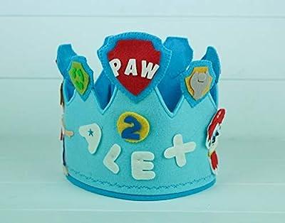 Corona Cumpleaños Patrulla Canina