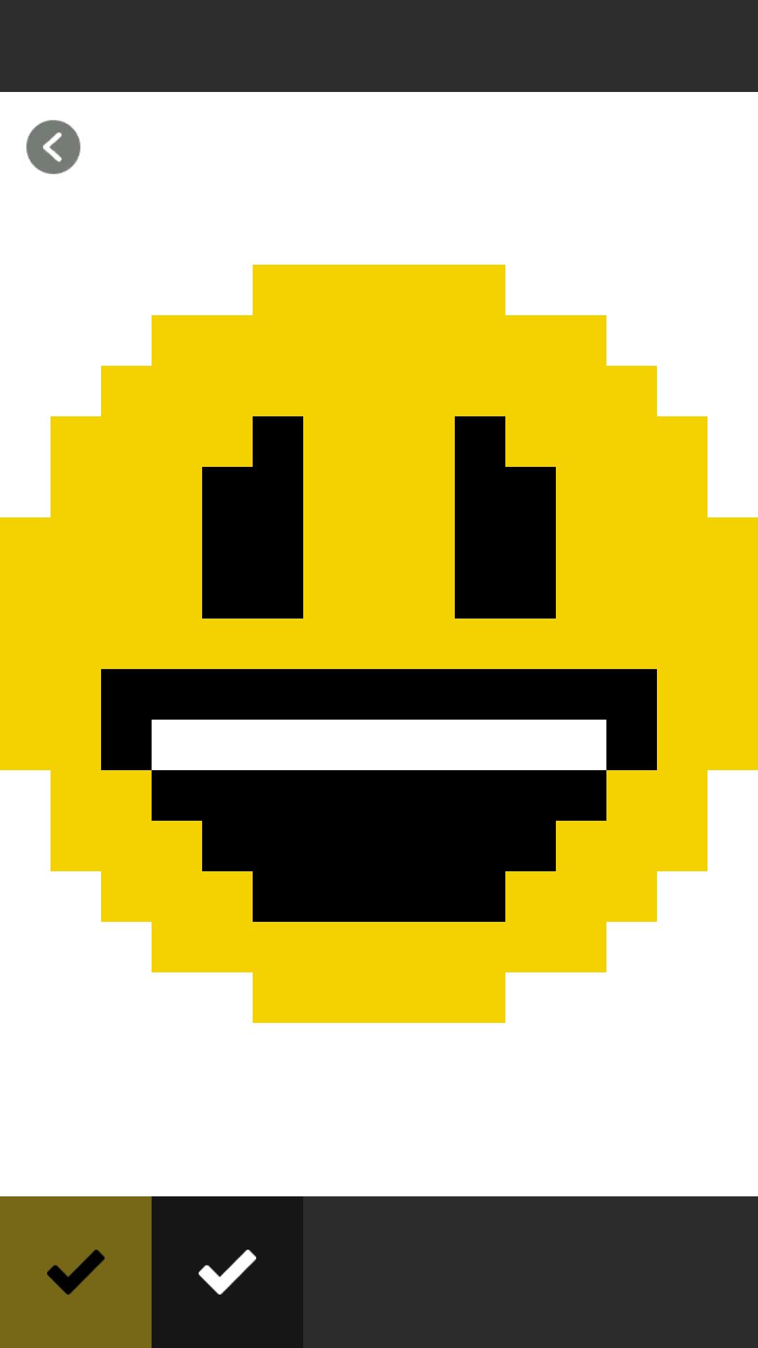 Emoji Color By Number Pixel Art Emoji
