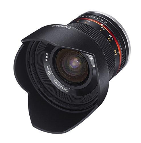 Samyang 12mm F2.0 Objektiv für Anschluss Samsung NX - 3