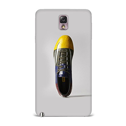 Samsung Note 3 Case, Samsung Note 3 Hard Protective SLIM Printed Cover [Shock Resistant Hard Back Cover Case] for Samsung Note 3 - Adidas Shoes Soccer Sports Logo  available at amazon for Rs.299