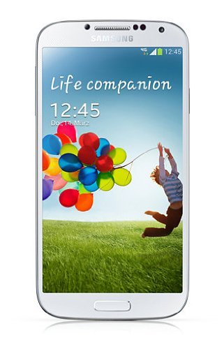 Samsung Galaxy S4 Smartphone (5 Zoll (12,7 cm) Touch-Display 16 GB Speicher, Android 5.0) weiß - Fall 4 Max S4 Galaxy