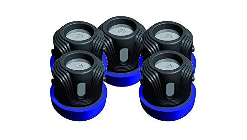 Meet Beauty Batterien für Sicherheits-Halsbänder von Hunden und Haustieren, kompatibler Ersatz für RFA-188-Knopfzellen, 5Stück