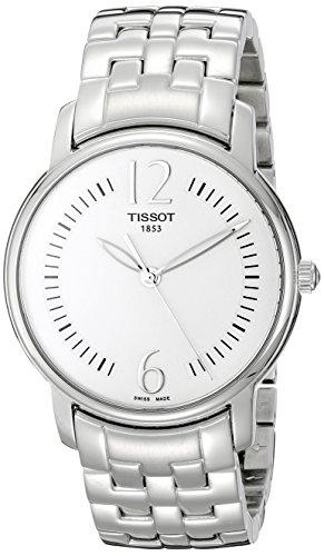 Tissot T0522101103700 38mm Silver Steel Bracelet & Case Anti-Reflective Sapphire Women's Watch