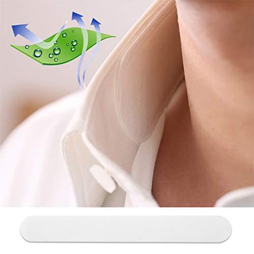 Einweg-Kragenschutz-Schweißpolster White Collar Self-Adhesive Neck Liner Pads -