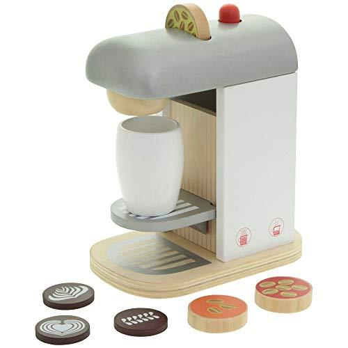 The Toy Company Spielzeug Kaffeemaschine Holz Kinder mit Zubehör Kinderküche