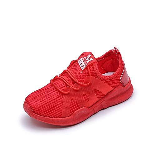 YanHoo Zapatos niños Estudiantes Mallas