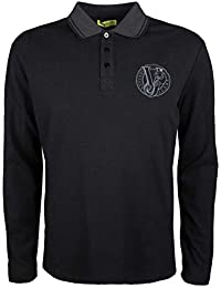 Versace Jeans Longsleeve Polo - B3GQB7P6   Polo M L Round Regular - M 967248debcc