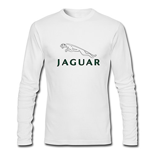 Fashion Jaguar long sleeve Tops T shirts -  Maglia a manica lunga  - Uomo White XXX-Large
