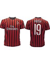 Maglia Piatek Milan Ufficiale 2019 2020 AC Adulto Bambino Krzysztof Numero 19 (12 Anni)