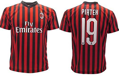 Maglia Piatek Milan Ufficiale 2019 2020 AC Adulto Bambino Krzysztof Numero 19