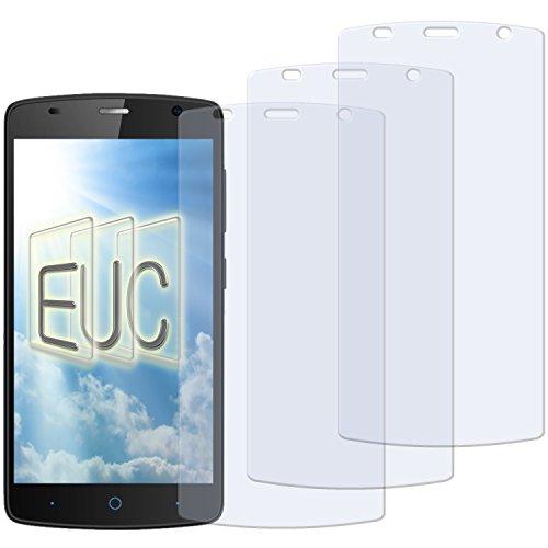 3 x Displayschutzfolie matt/entspiegelnd für ZTE Blade L5 Plus