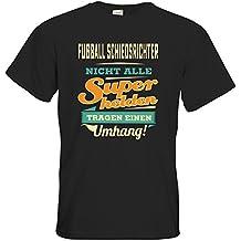 43a00c915d5a getshirts - RAHMENLOS® Geschenke - T-Shirt - Superhelden Umhang - Fussball  Schiedsrichter