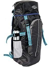 POLESTAR Hike GREYBLK Rucksack with RAIN Cover/Trekking/Hiking BAGPACK/Backpack Bag