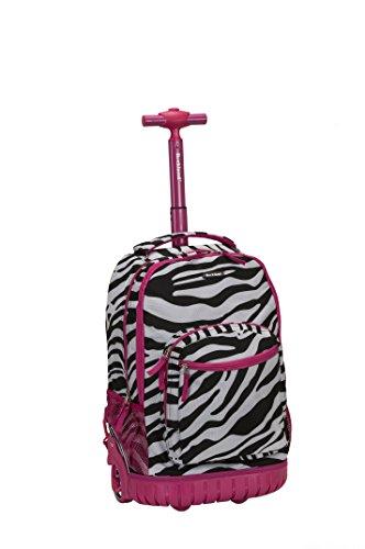 rockland-unisex-erwachsene-daypack-pink-zebra-rosa-r02