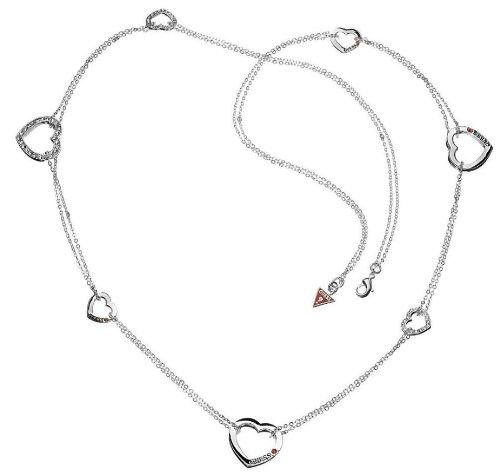 Guess Damen-Halskette Herzen 92cm Ubn81004