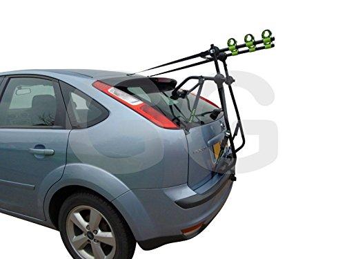 Fahrradträger für 3 Fahrräder, Montage am Kofferraum, für Ford