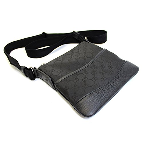 Gucci-GG-Guccissima-Monogram-Black-Canvas-and-Leather-Crossbody-Messenger-Shoulder-Bag-374416-527066