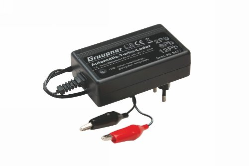 Graupner 6457 - Automatiklader 2/6/12 Pb 1A 120-240V AC, Funktions- und Standmodellbau