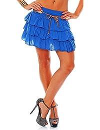 Amazonit Gonna Balze Donna Abbigliamento