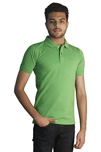 Tapasya Green Space Polo T-Shirt