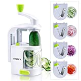 Best Spiralizers - Opard Vegetable Spiralizers BPA Free 4 Sharp But Review