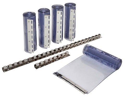 Kerbl PVC-Streifenvorhangset 300 transparent 300x3mm, 225cm
