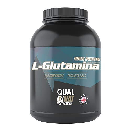 L-Glutamina | Más Masa Muscular |Fuerza y Energía Suplemento Deportivo | 360 comprimidos