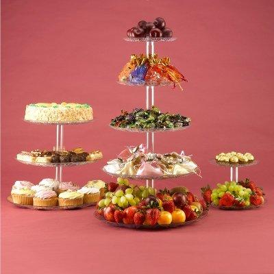 5 Tier stand for Cupcake wedding cake food fruit display