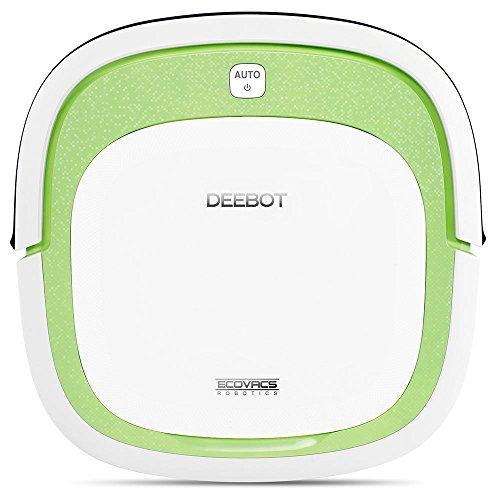 Ecovacs DEEBOT SLIM Bolsa para el polvo 0.32L Verde, Color blanco aspiradora robotizada - Aspiradoras robotizadas (Bolsa para el polvo, 0,32 L, Verde, Blanco, 60 dB, Sensor de infrarrojos, Litio)