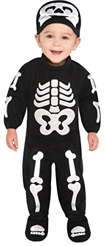 n Skelett Baby Kostüm 6-12Monate (Skelett Kostüm Baby)