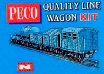 Peco knr-9Kit Van Pakete & Fish