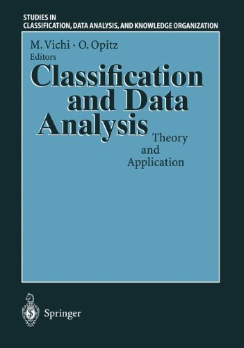 Classification and Data Analysis: Theory and Application (Studies in Classification, Data Analysis and Knowledge Organization)