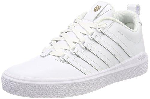 K-Swiss Herren Donovan Sneaker, Weiß (White), 46 EU