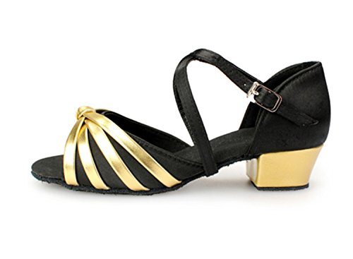 Miyoopark - Ballroom donna Black/Gold-3.5cm Heel