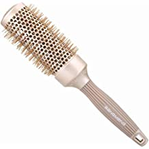 BANGMENG Round Barrel Cepillo para el cabello antiestático | Nano Thermal Ceramic Ionic Tech | Protege