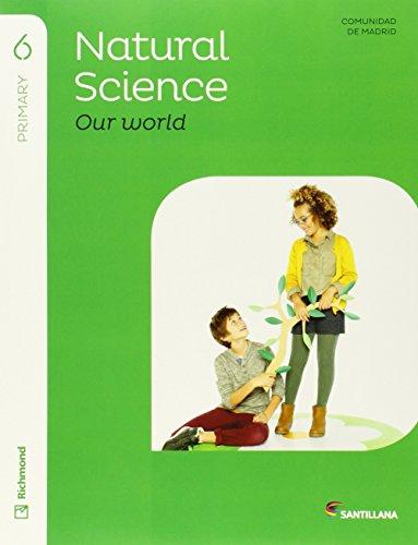 6PRI NATURAL & SOCIAL ''MY WORLD'' STD'S PACK - 9788468032535 por Aa.Vv.