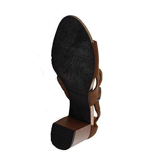 VAGABOND Femmes - Sandales SCARLETT 4137-150 - wood *