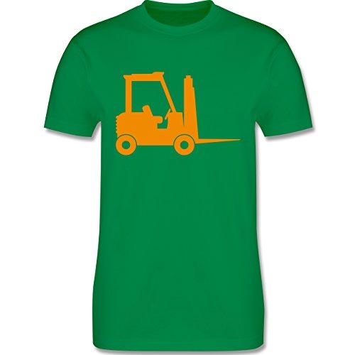 Andere Fahrzeuge - Gabelstapler - Herren Premium T-Shirt Grün