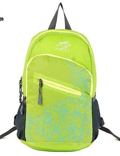 ZQ Freizeit Outdoor Bergsteigen Tasche Reisen Tasche Super tragbar faltbar Wasserdicht Kleiner Rucksack für Männer und Frauen Violett - violett