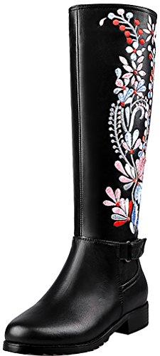 elehot-femme-eleclean-plat-25cm-souple-bottes-noir-b-39