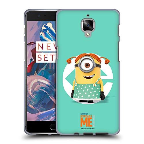 fizielle Despicable Me Stuart Maedchen Kostuem Minions Soft Gel Huelle kompatibel mit OnePlus 3 / 3T ()