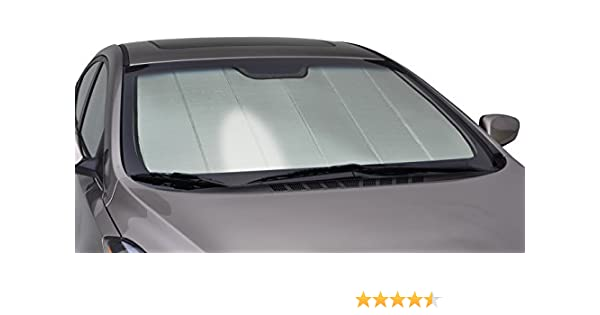 Intro-Tech MD-53 Silver 0 Custom Fit Windshield Sunshade for Select Mercedes-Benz W205 C Class Models