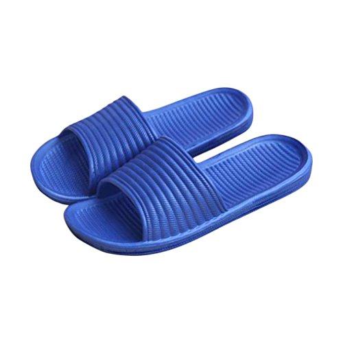 Chanclas Hombre, ☀ Ba Zha Hei Chanclas Para Hombre Sandalias y zapatillas de baño interiores para hombres Antideslizante y Resistente al desgaste zapatps hombre Sandalias hombre smart (41, Azul)